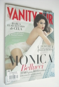 Vanity Fair magazine - Monica Bellucci cover (February 2013 - Spanish Edition)