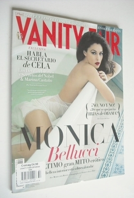 <!--2013-02-->Vanity Fair magazine - Monica Bellucci cover (February 2013 -
