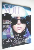 <!--2010-04-11-->You magazine - Lady Gaga cover (11 April 2010)