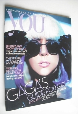 <!--2010-04-11-->You magazine - Lady Gaga cover (11 April 2010)