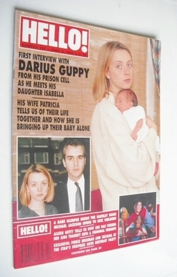 <!--1993-06-05-->Hello! magazine - Patricia Guppy cover (5 June 1993 - Issu