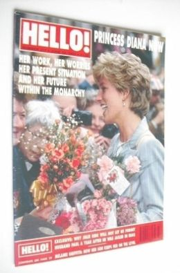 <!--1993-06-12-->Hello! magazine - Princess Diana cover (12 June 1993 - Iss
