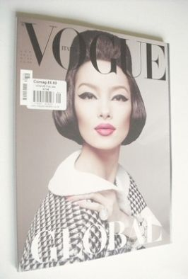 <!--2013-01-->Vogue Italia magazine - January 2013 - Fei Fei Sun cover
