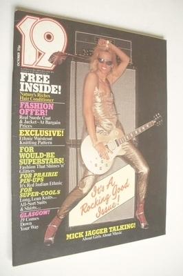 <!--1976-10-->19 magazine - October 1976