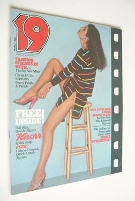 <!--1977-03-->19 magazine - March 1977