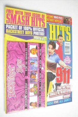 <!--1998-03-25-->Smash Hits magazine - 911 cover (25 March - 7 April 1998)
