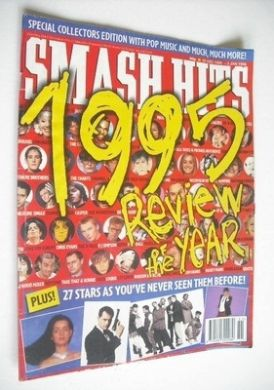 <!--1995-12-20-->Smash Hits magazine - Review Of The Year cover (20 Decembe