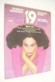19 magazine - August 1976
