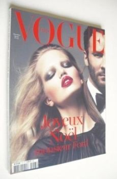 French Paris Vogue magazine - December 2010/January 2011 - Daphne Groeneveld & Tom Ford cover