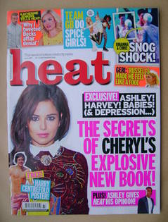 <!--2012-09-15-->Heat magazine - Cheryl Cole cover (15-21 September 2012 -