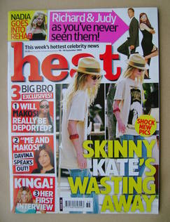<!--2005-09-10-->Heat magazine - Kate Hudson cover (10-16 September 2005 -