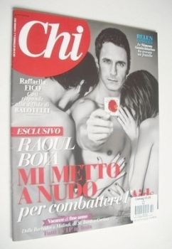 Chi magazine - Raoul Bova cover (2-9 January 2013)