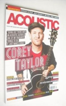 Acoustic magazine - Corey Taylor cover (October 2012)