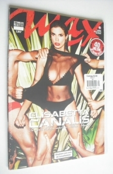 Max magazine - Elisabetta Canalis cover (September 2012 - Italian Edition)
