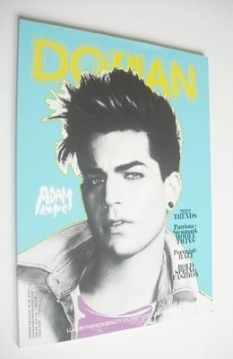 Dorian magazine - Adam Lambert cover (No. 16 - 2012)