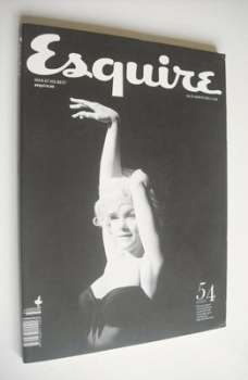 Esquire magazine - Marilyn Monroe cover (July/August 2012 - Spanish Edition)