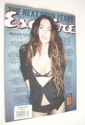 <!--2013-02-->Esquire magazine - Megan Fox cover (February 2013 - US Editio