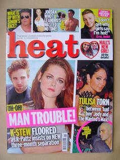 <!--2012-11-10-->Heat magazine - Kristen Stewart / Robert Pattinson cover (