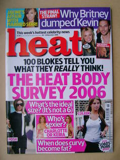 <!--2006-11-18-->Heat magazine - Body Survey 2006 (18-24 November 2006 - Is