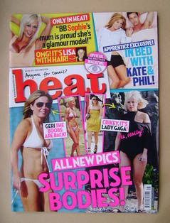<!--2009-06-20-->Heat magazine - Surprise Bodies cover (20-26 June 2009 - I