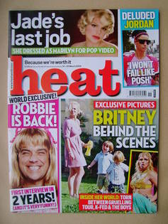 <!--2009-03-14-->Heat magazine - Britney Spears cover (14-20 March 2009 - I