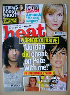 <!--2009-05-30-->Heat magazine - Billi Bhatti / Jordan cover (30 May-5 June
