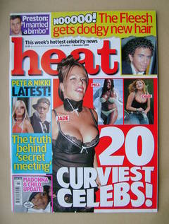 <!--2006-10-28-->Heat magazine - Curviest Celebs cover (28 October-3 Novemb