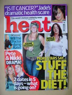 <!--2006-11-11-->Heat magazine - Stuff The Diet cover (11-17 November 2006