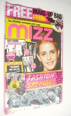 MIZZ magazine - Emma Watson cover (11-24 November 2010)