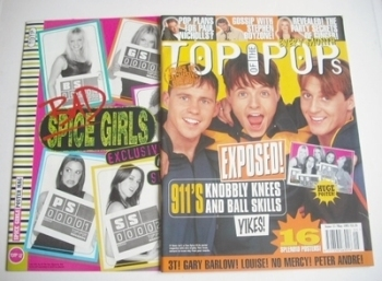 Top Of The Pops magazine - 911 cover (May 1997)
