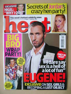 <!--2005-08-27-->Heat magazine - Eugene Sully cover (27 August-2 September