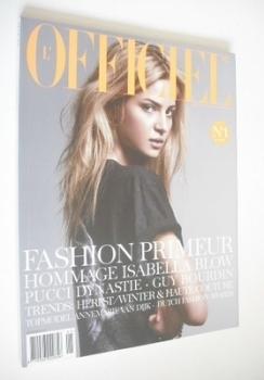 <!--2007-11-->L'Officiel Netherlands magazine (November 2007 - Anne Marie Van Dijk cover)