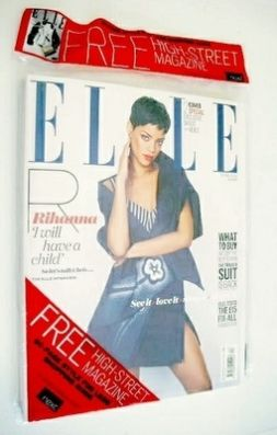 <!--2013-04-->British Elle magazine - April 2013 - Rihanna cover (Cover 1 o