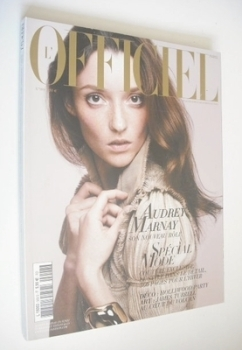 L'Officiel Paris magazine (September 2006 - Audrey Marnay cover)