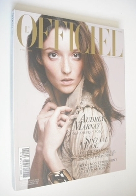 <!--2006-09-->L'Officiel Paris magazine (September 2006 - Audrey Marnay cov
