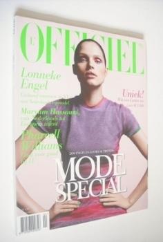 <!--2008-04-->L'Officiel Netherlands magazine (April 2008 - Lonneke Engel cover)