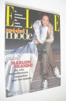French Elle magazine - 5 September 1994 - Brandi Quinones cover