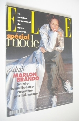 <!--1994-09-05-->French Elle magazine - 5 September 1994 - Brandi Quinones