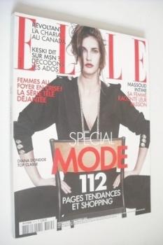 French Elle magazine - 5 September 2005 - Diana Dondoe cover