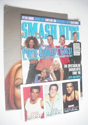 <!--1996-09-25-->Smash Hits magazine - The Spice Girls cover (25 September