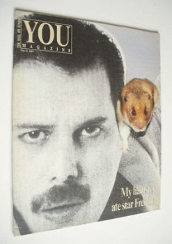 <!--1987-05-31-->You magazine - Freddie Mercury cover (31 May 1987)