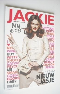 Jackie magazine - Sophie Vlaming cover (March/April 2011)