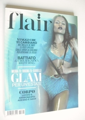 <!--2006-06-->Flair magazine - June 2006 - Natasha Poli cover