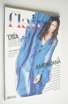 <!--2009-02-->Flair magazine - February 2009 - Chanel Iman cover
