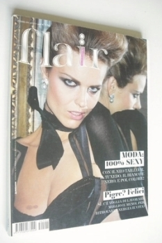 <!--2005-02-->Flair magazine - February 2005 - Eva Herzigova cover