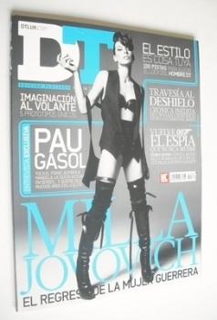 DTLUX magazine - Milla Jovovich cover (Issue 189)