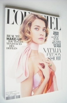 L'Officiel Paris magazine - March 2013 - Natalia Vodianova cover