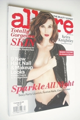 <!--2012-12-->Allure magazine - December 2012 - Keira Knightley cover