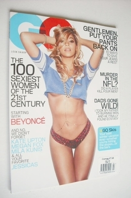 <!--2013-02-->US GQ magazine - February 2013 - Beyonce Knowles cover