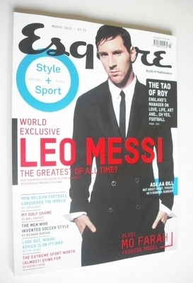 <!--2013-03-->Esquire magazine - Leo Messi cover (March 2013)